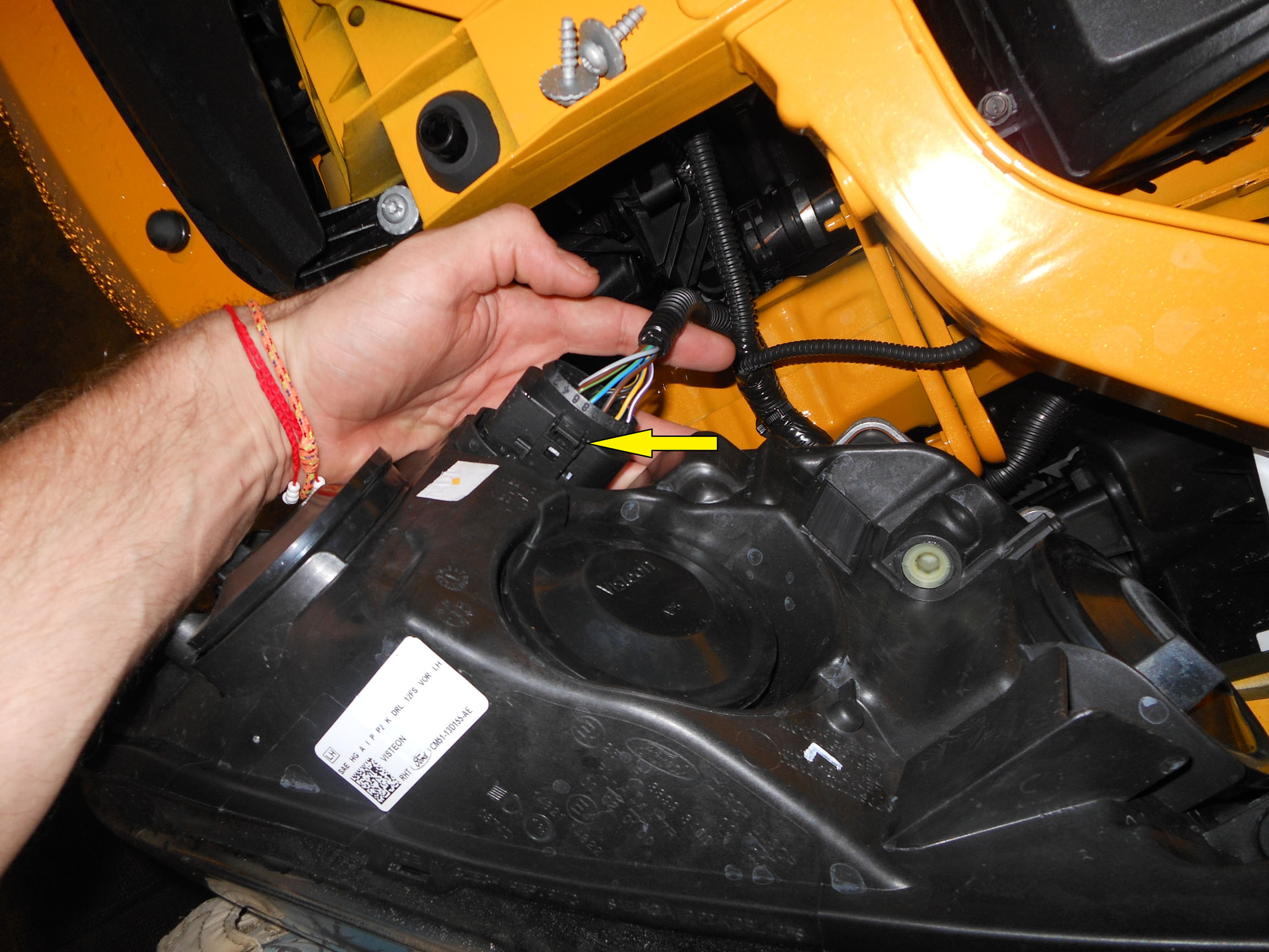 Adjust Vertical Postition Angle Of Hid Headlamps Ford Focus St Forum