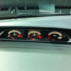 2012 ford focus ST speedometer