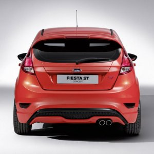 05 ford fiesta st concept