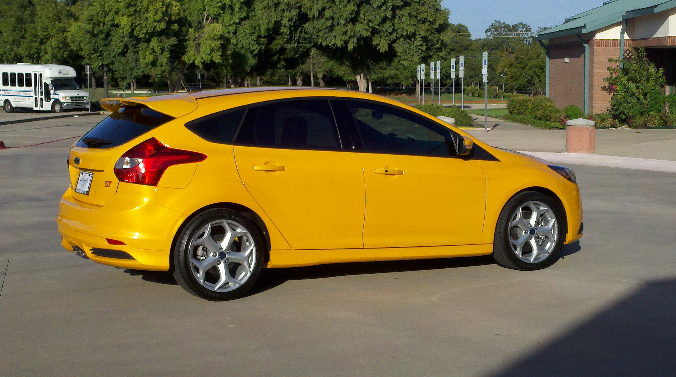 Canary Yellow 2012 Focus Ford Focus Forum Ford Focus St Forum