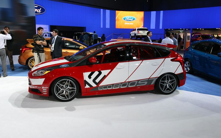 2012 ford focus race car concept side