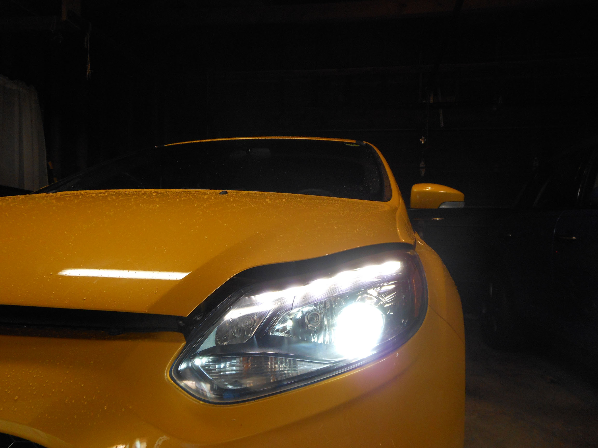 Ford Fusion White Headlights >> Photo 34 of 39 from Focus ST3 HID Headlights