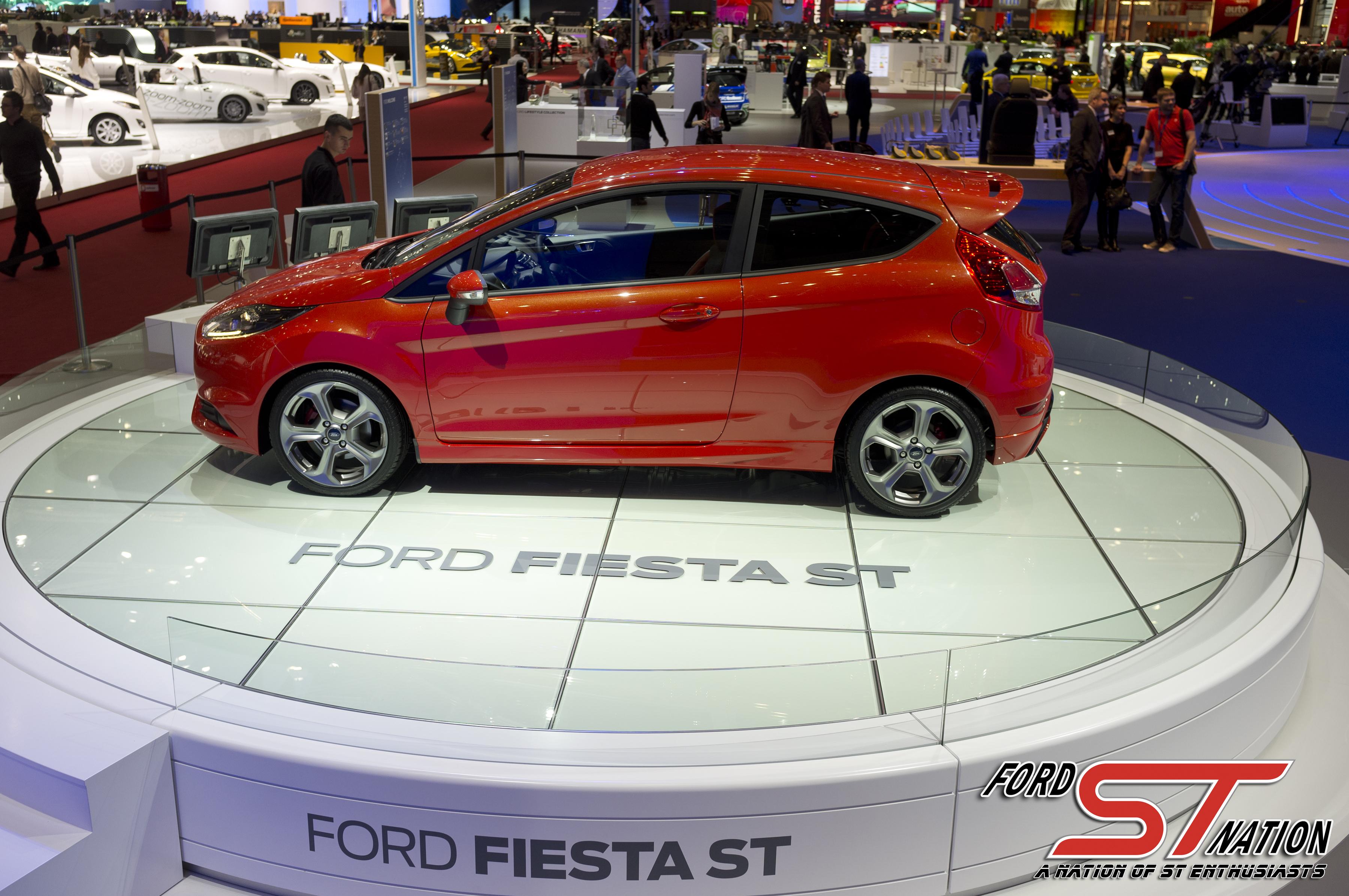 Photo 17 of 20 from 2013 Fiesta ST Euro Spec at Geneva