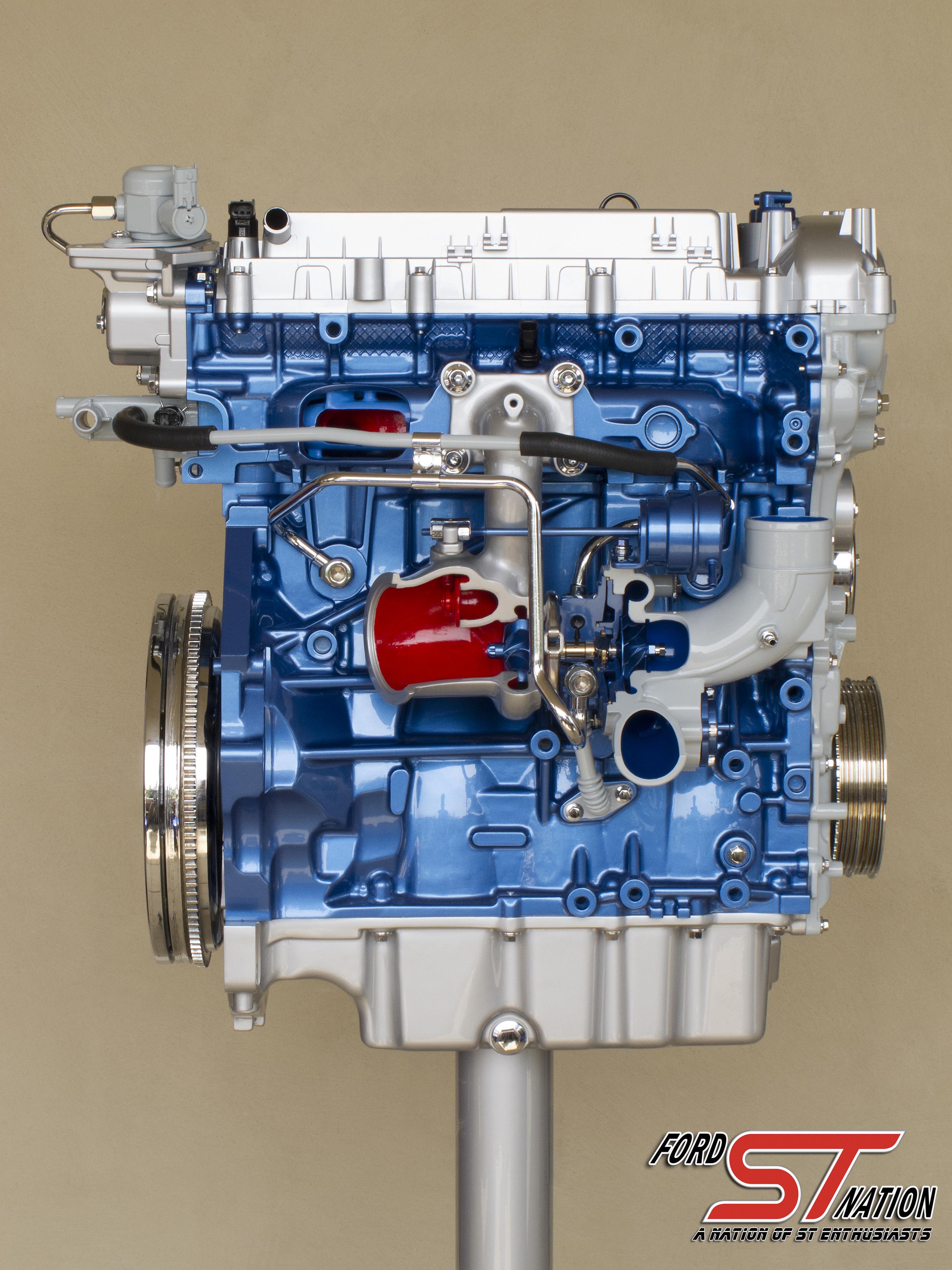 Ford focus st ecoboost engine 11