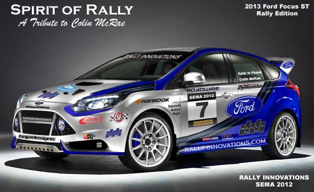 Rally Innovations  Focus ST SEMA Car